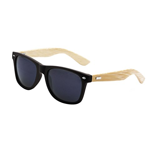 Polarized Wayfarer Bamboo Sunglasses