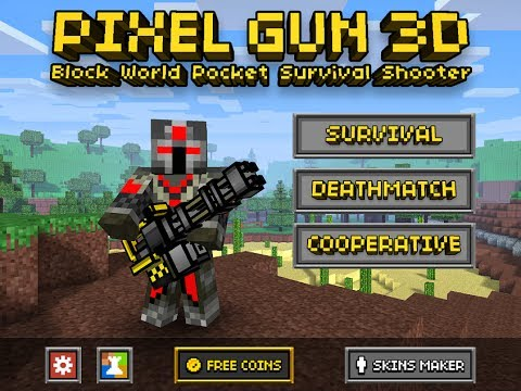 Pixel Gun 3D world campaign